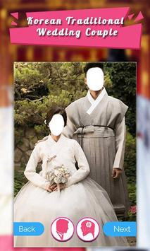 Korean Traditional Wedding Couple screenshot 2