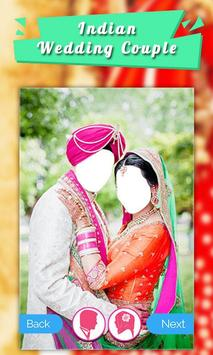 Indian Wedding Dress Couple screenshot 1