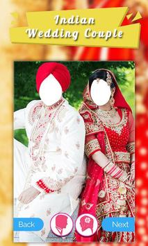 Indian Wedding Dress Couple screenshot 2