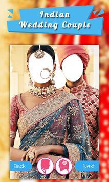 Indian Wedding Dress Couple screenshot 3