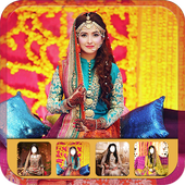 Pakistani Bride Photo Suit icon