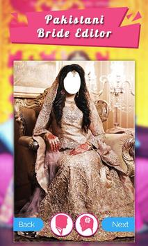 Pakistani Bride Photo Suit poster
