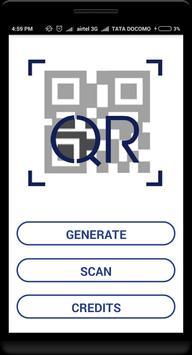 QR Code Generator & Scanner - GLS MSc (IT) screenshot 1