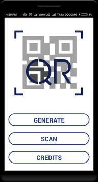 QR Code Generator & Scanner - GLS MSc (IT) screenshot 1