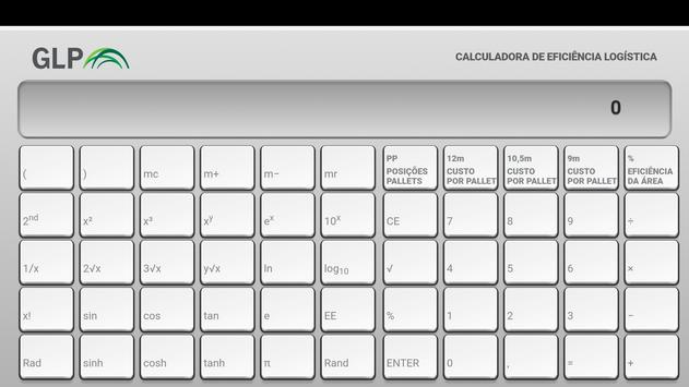 GLP - Calculadora Logística screenshot 2