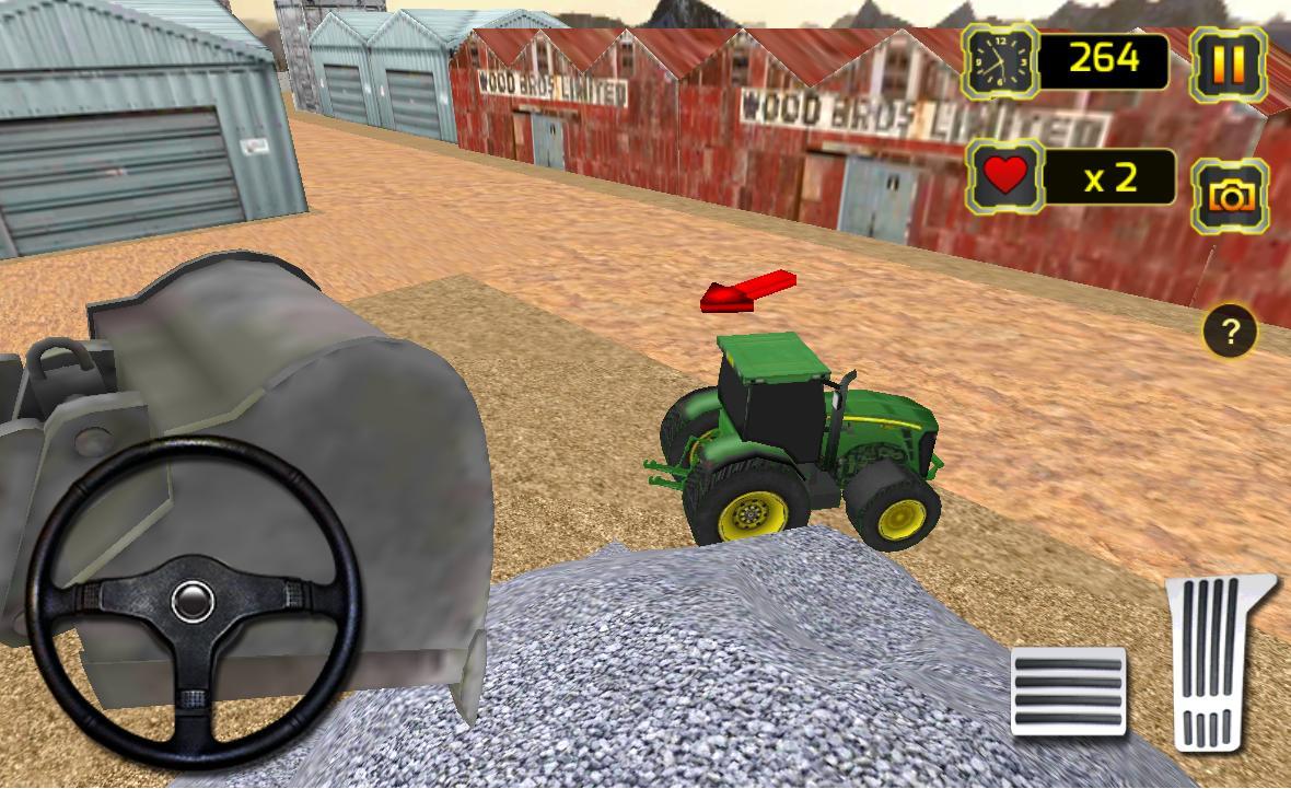трактор бетон