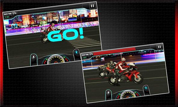 Drag Race : Heavy Bike Version screenshot 13