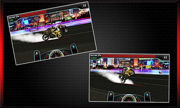 Drag Race : Heavy Bike Version screenshot 20