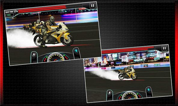 Drag Race : Heavy Bike Version screenshot 2