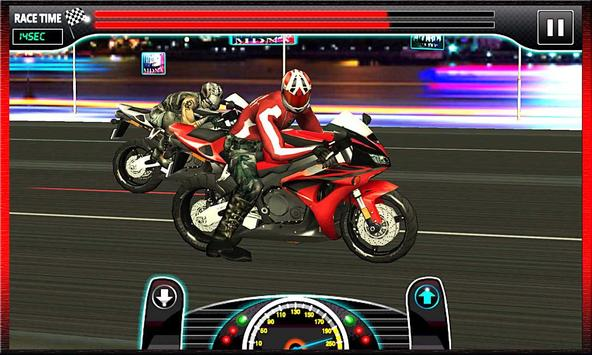 Drag Race : Heavy Bike Version screenshot 3