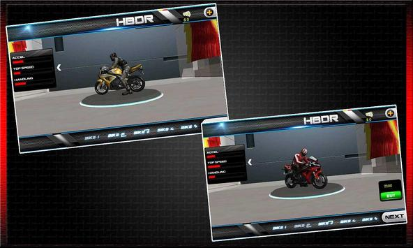 Drag Race : Heavy Bike Version screenshot 6