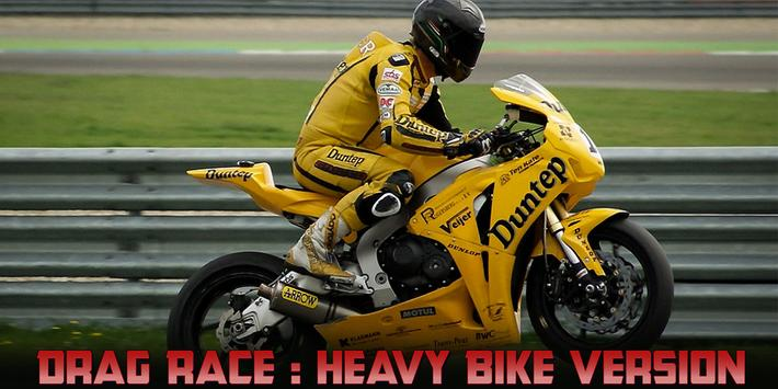 Drag Race : Heavy Bike Version screenshot 7