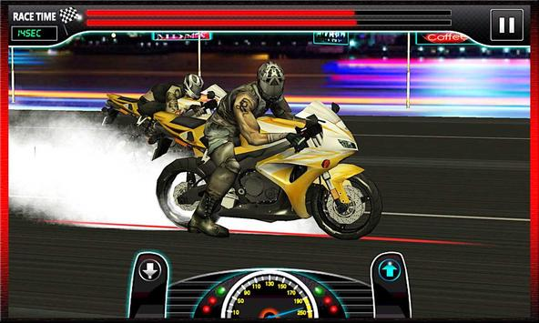 Drag Race : Heavy Bike Version screenshot 9