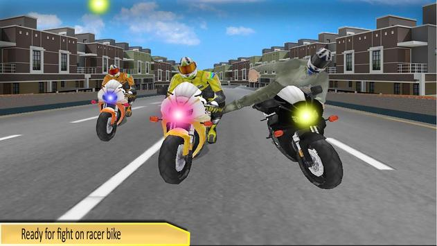 Bike Race Stunt Attack - Motorcycle Death Racing poster