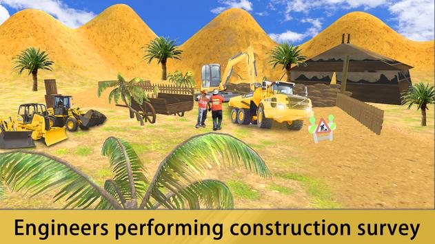 Build Road Construction Game poster