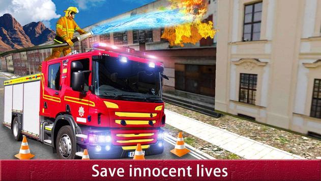 US City Rescue Fireman Simulator-Fire Brigade Game screenshot 6