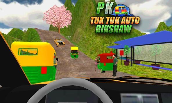 Tuk Tuk Chingchi Rikshaw Offroad Drive apk screenshot