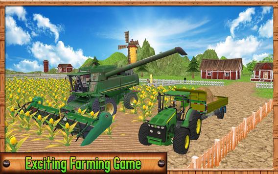 Farming Harvester Simulator 2017 poster