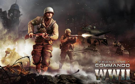 FRONTLINE COMMANDO: WW2 تصوير الشاشة 20