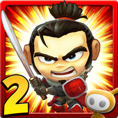 SAMURAI vs ZOMBIES DEFENSE 2 icon