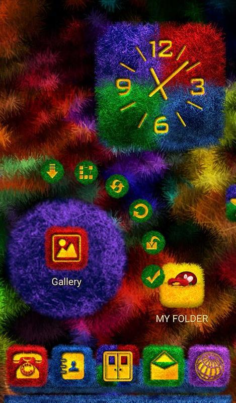 Screen 800 Fakeurl Type Holo Clock Apk