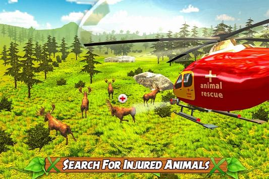 Animal Rescue Helicopter Sim poster