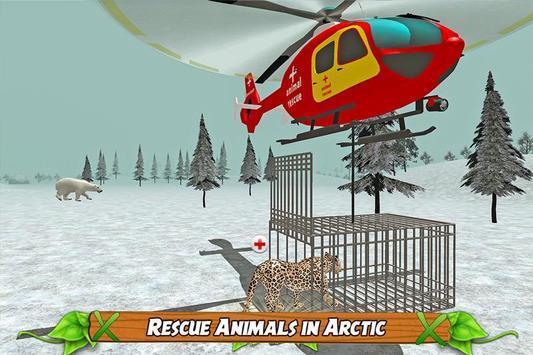 Animal Rescue Helicopter Sim apk screenshot