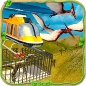 Dinosaur Rescue Helicopter icon