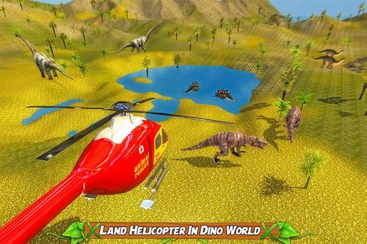 Dinosaur Rescue Helicopter poster