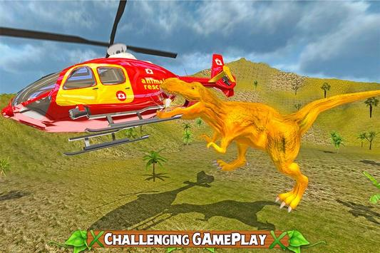 Dinosaur Rescue Helicopter screenshot 3