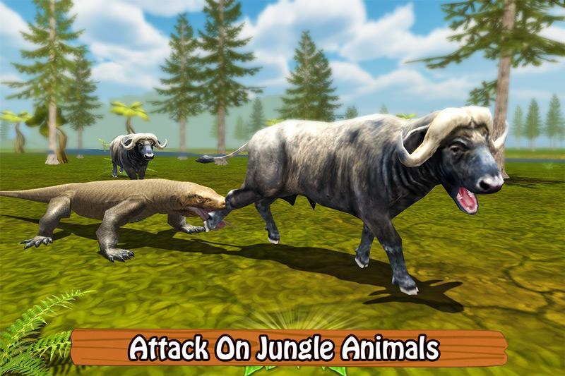Furious Komodo Dragon for Android - APK Download