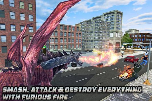 Chimera Lion Dragon City Rampage poster