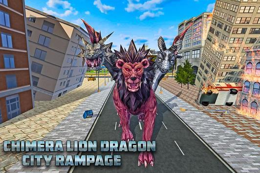 Chimera Lion Dragon City Rampage screenshot 11