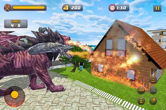 Chimera Lion Dragon City Rampage screenshot 1