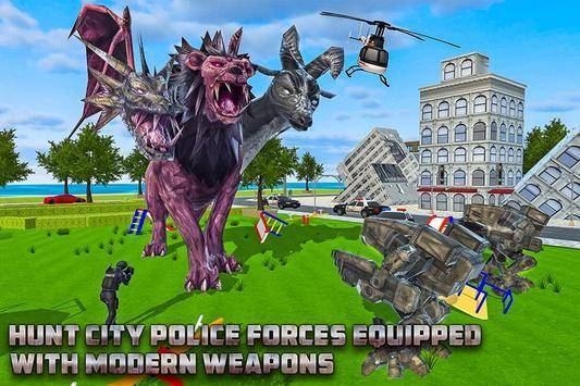 Chimera Lion Dragon City Rampage screenshot 2