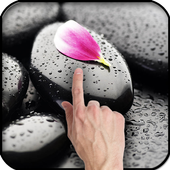 Stone in water Live Wallpaper icon
