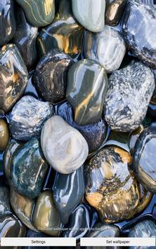 Stone in water Live Wallpaper apk screenshot