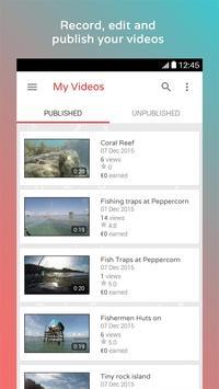 Glymt, Sell Unique Video Shots apk screenshot