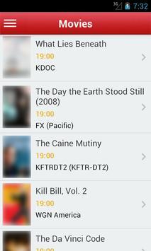 USA - California's TV Guide apk screenshot