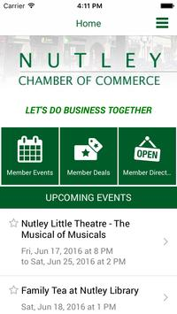 Nutley Chamber of Commerce poster