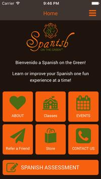 Spanish on the Green poster