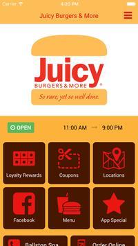 Juicy Burgers & More poster