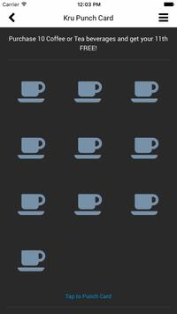 Kru Coffee apk screenshot