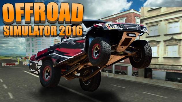 Offroad Simulator 2016 poster