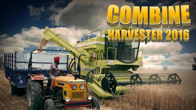 Combine Harvester 2016 poster