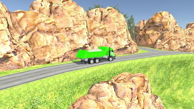 Euro Oil Truck Transport Sim screenshot 3