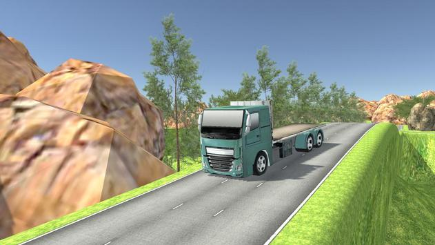 Euro Oil Truck Transport Sim screenshot 1