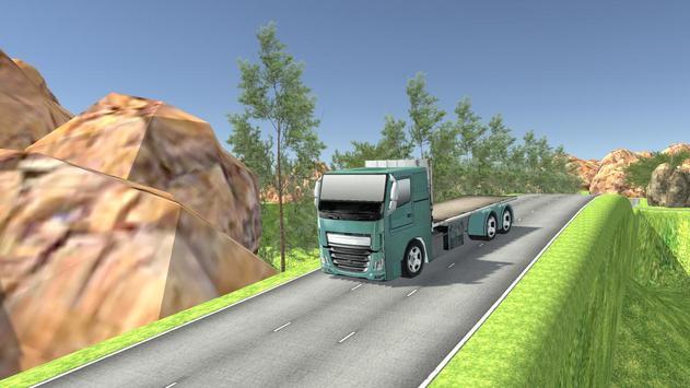 Euro Oil Truck Transport Sim screenshot 1