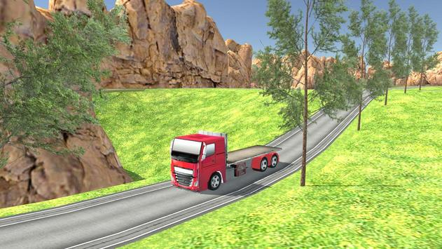 Euro Oil Truck Transport Sim screenshot 2