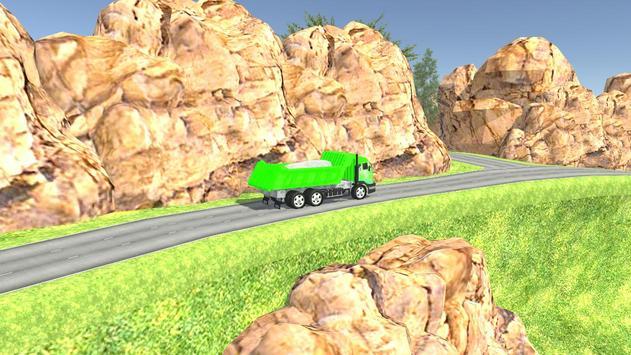 Euro Oil Truck Transport Sim screenshot 8